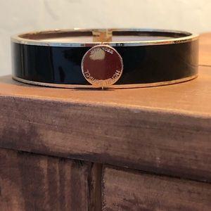 Henri Bendel bracelet black and gold